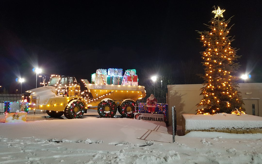 Nala Engineers helps light the way for Caterpillar Toy Appeal